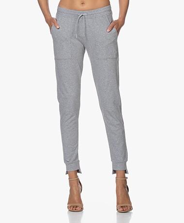 Filippa K Soft Sport Restorative Cotton Sweatpants - Lichtgrijs