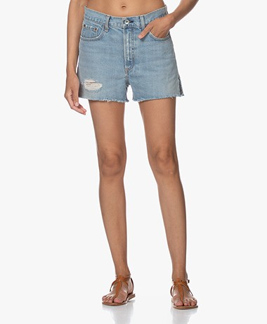 Rag & Bone Justine Denim Shorts - Duffs