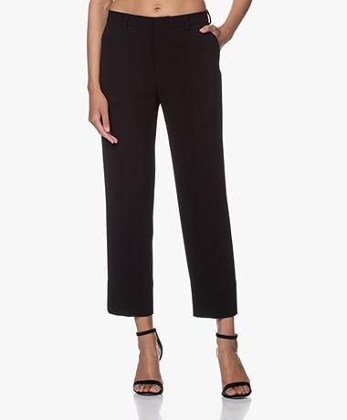 Filippa K Regina Crêpe Pantalon - Zwart