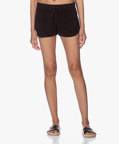 Filippa K Soft Sport Terry Jersey Short - Zwart