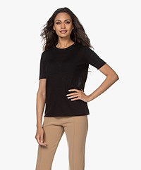 Joseph Cashair Pure Cashmere T-shirt - Black