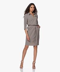 JapanTKY Nene Travel Jersey Dress - Olive