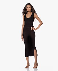 By Malene Birger Minasia Knitted Midi Dress - Black