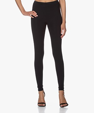JapanTKY Haya Slim-fit Jersey Legging - Zwart