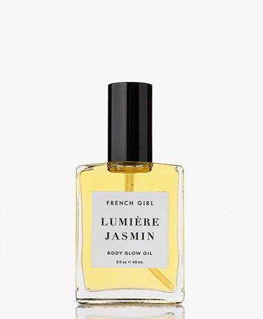 French Girl Lumière Glow Body Oil - Jasmin 60ml