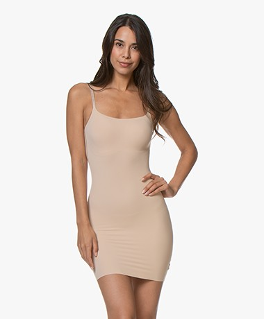 Calvin Klein Invisibles Full Slip Dress - Bare