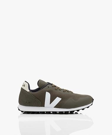 Veja SDU B-Mesh Vegan Sneakers - Olijfgroen