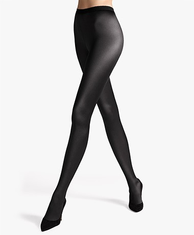 Wolford Satin de Luxe 100 Tights - Black
