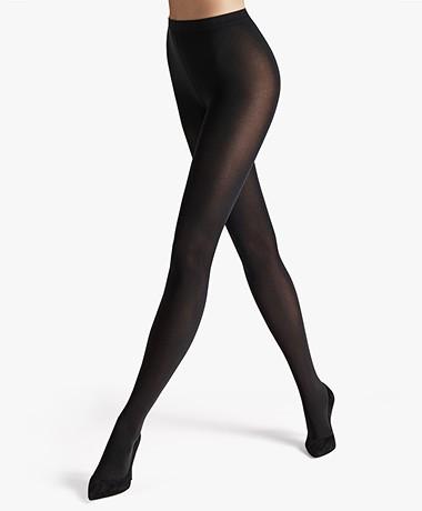 Wolford Velvet de Luxe 66 Panty - Zwart