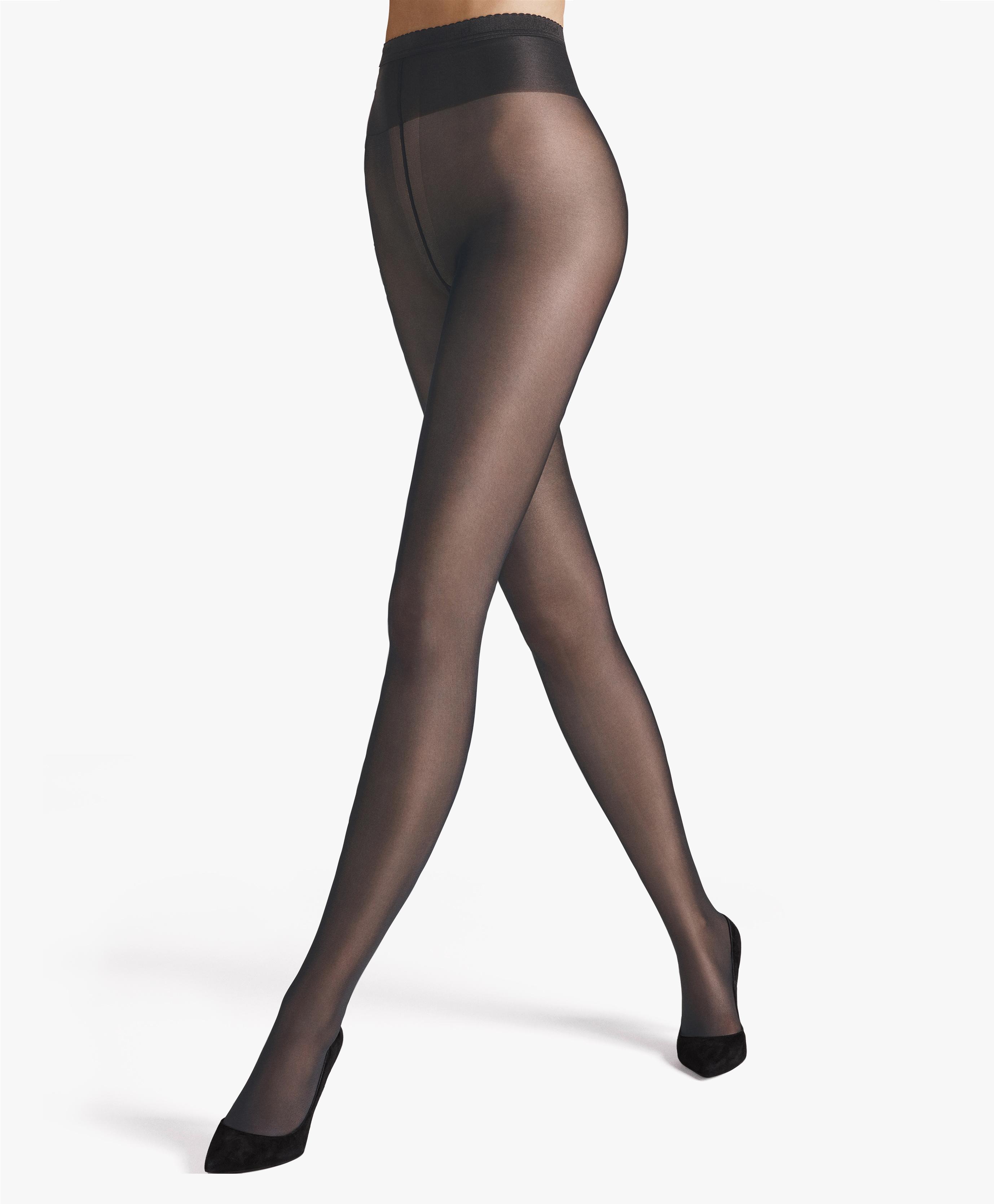 RRP £5 Sock Shop 15 Denier Invisible Slimming Tights Medium Natural