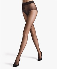 Wolford Pure 10 Panty - Nearly Black