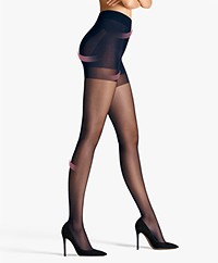 Wolford Pure 30 Complete Support Tights - Admiral