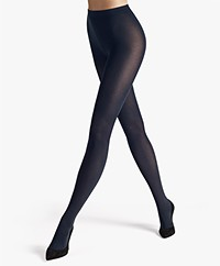 Wolford Velvet de Luxe 66 Tights - Admiral