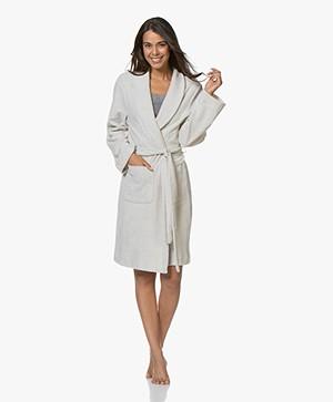 HANRO Robe Selection Fleece Plush Robe - Moonlight