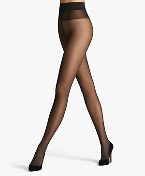 Wolford Comfort Cut 40 Tights - Nearly Black