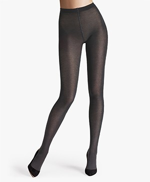 Wolford Merino 200 Tights - Anthracite