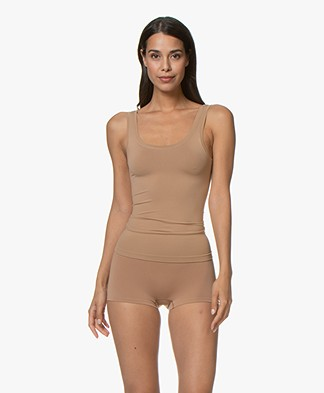 HANRO Touch Feeling Tank Top - Caramel