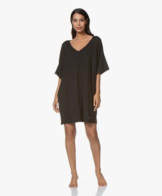 Calvin Klein Modal Jersey Nightshirt - Black