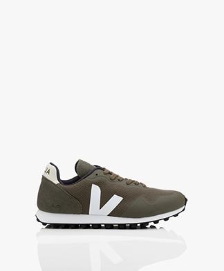Veja SDU B-Mesh Vegan Sneakers - Olive Green