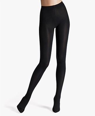 Wolford Mat Opaque 80 Tights - Black