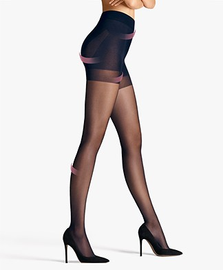 Wolford Pure 30 Complete Support Panty - Admiral