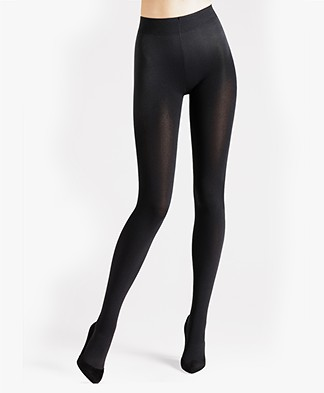 Wolford Velvet Sensation 100 Tights - Black