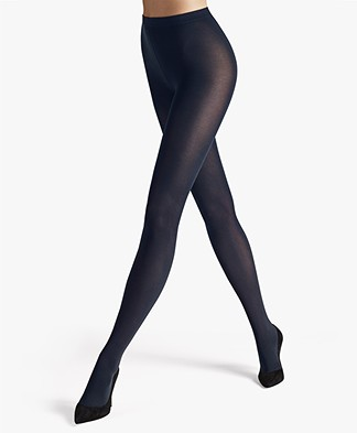 Wolford Velvet de Luxe 66 Panty - Admiral