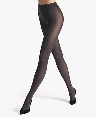Wolford Velvet de Luxe 66 Panty - Antraciet