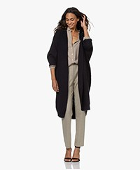 by-bar Pippa Lang Open Vest - Midnight