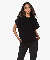 By Malene Birger Farima Sleeveless Sweater - Black