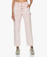 ba&sh Tanguy Utility Jeans - Rose