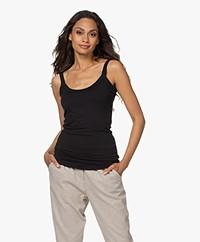 Woman by Earn Haley Micro Modal Top - Black