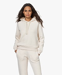 by-bar French Terry Hooded Sweater - Oyster Mêlee