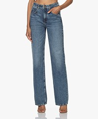 Drykorn Crest Straight High-rise Jeans - Mid Blue