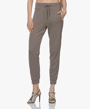 Filippa K Soft Sport Shiny Track Pants - Mink