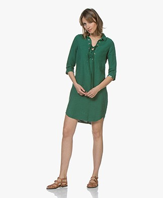 Josephine & Co Carel Linen Tunic Dress - Green