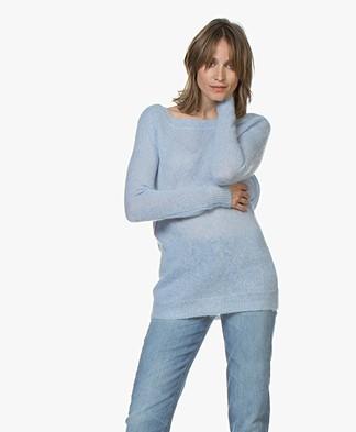 Josephine & Co Corlinda Mohair Blend Sweater - Light Blue