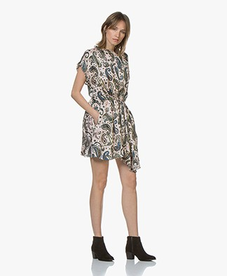 Zadig & Voltaire Rolee Paisley Print Dress - Corolle