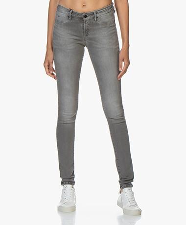 Denham Spray Super Tight Fit Jeans - Middengrijs