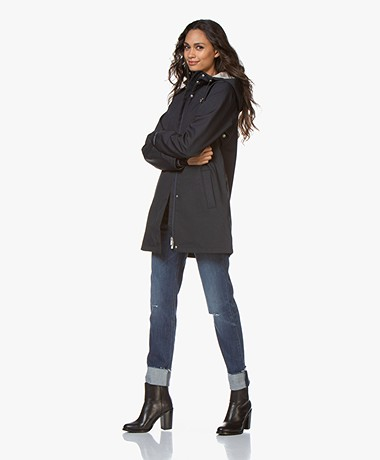 Ilse Jacobsen Rain115 Softshell Raincoat - Dark Indigo