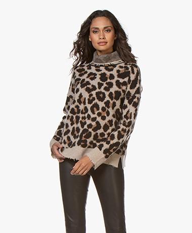 Zadig & Voltaire Gillian Leo Jacquard Sweater - Trench