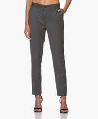 Woman by Earn Juliette Wool Blend Pants - Grey