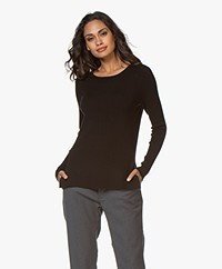 LaSalle Soy Bean Pullover - Black