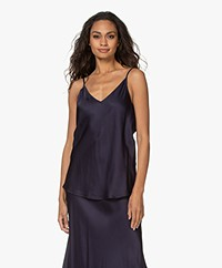 Resort Finest Satijnen Camisole Top - Navy