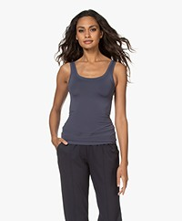 HANRO Touch Feeling Tank Top - Carbon
