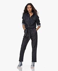 Woman By Earn Bri Denim Boilersuit - Denim Blauw