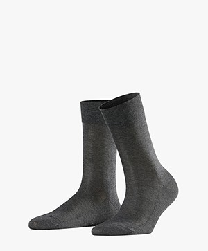 FALKE Sensitive Malaga Socks - Dark Grey Melange