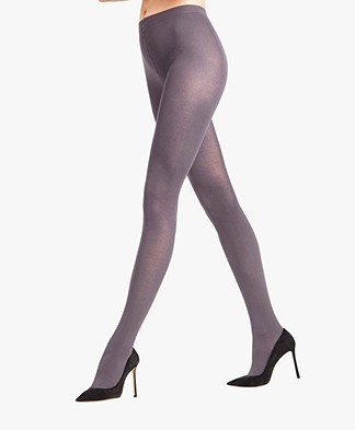 FALKE Cotton Touch Tights - Anthra Mix