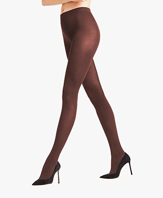 FALKE Cotton Touch Tights - Cigar