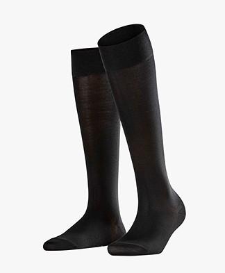 FALKE Cotton Touch Sokken - Zwart